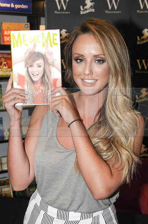 &copy; Licensed to London News Pictures. 14/07/2015<br /> Charlotte Crosby from Gordie Shore signing copies of her new book 'Me Me Me' at Waterstones book shop at Bluewater in Kent. Photo credit: Grant Falvey/LNP