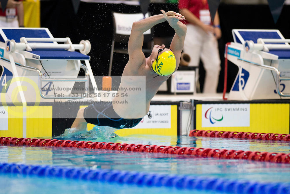 ANDERSON Michael AUS at 2015 IPC Swimming World Championships -  Men's 100m Backstroke S10