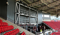 The big screen is installed into Ashton Gate, above the Heineken Bar- Mandatory by-line: Robbie Stephenson/JMP - 15/09/2016 - FOOTBALL - Ashton Gate - Bristol, England - Ashton Gate Development