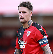 Crawley Town central defender Sonny Bradley during the Sky Bet League 2 match between Crawley Town and Leyton Orient at the Checkatrade.com Stadium, Crawley, England on 10 October 2015. Photo by Bennett Dean.