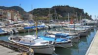 FRANKRIJK - Cassis - Haven met vissersboten . ANP COPYRIGHT KOEN SUYK