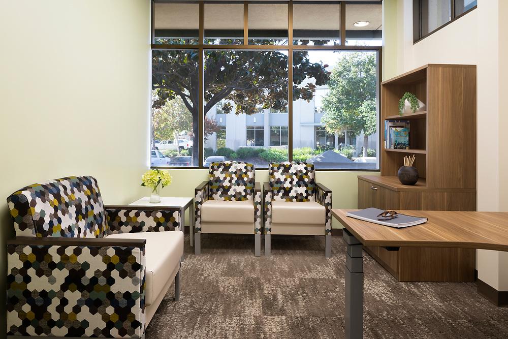 Interior of Kaiser Behavioral Health  Elk Grove, CA