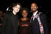 Timothée Chalamet, Jessica, and Michael B. Jordan