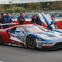 #67, Ford Chip Ganassi Team UK,Ford GT, driven by  Andy Priaulx, Harry Tincknell, Luis Felipe Derani at FIA WEC 6 Hours of Silverstone 2017, Silverstone International Circuit, on 16.04.2017