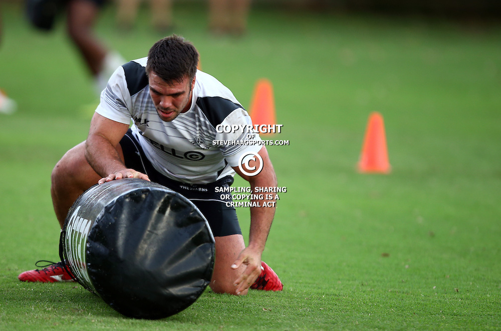 DURBAN, SOUTH AFRICA, 17 November 2015 - Francois Klenhans during The Pre-season training squad and coaching team announcement at Growthpoint Kings Park in Durban, South Africa. (Photo by Steve Haag)<br /> images for social media must have consent from Steve Haag