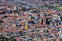 la candelaria Skyline cityscape in Bogota capital city of Colombia South America
