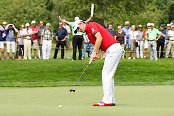 26.06.2015, Golfclub München Eichenried, Muenchen, GER, BMW International Golf Open, Tag 2, im Bild Bernd Wiesberger (AUT) beim Putten // during day two of the BMW International Golf Open at the Golfclub München Eichenried in Muenchen, Germany on 2015/06/26. EXPA Pictures © 2015, PhotoCredit: EXPA/ Eibner-Pressefoto/ Kolbert<br /> <br /> *****ATTENTION - OUT of GER*****