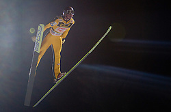 Gregor Schlierenzauer of Austria competes during First round of the FIS Ski Jumping World Cup event of the 58th Four Hills ski jumping tournament, on January 6, 2010 in Bischofshofen, Austria. (Photo by Vid Ponikvar / Sportida)