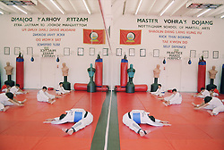 Training in Tae Kwon Do at Nottingham School of Martial Arts  Master Vohra's Dojang,