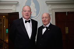 23/10/2015<br /> 10/23/2015<br /> 23 October 2015<br />  Guild of Agricultural Journalists &ndash; Michael Dillon Lecture at the Shelbourne Hotel, Dublin. For Farmer's Journal. <br /> At the event were (l-r): Patrick Kent, President of ICSA and Francis Brennan, Community Radio Castlebar.