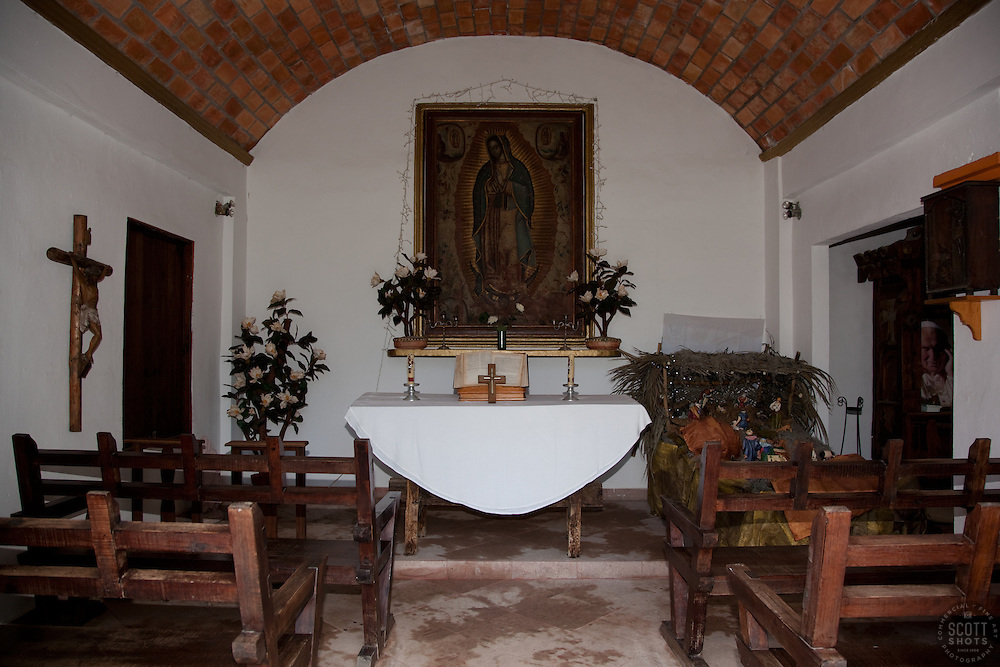 """Church in Mexico"" - This old church was photographed near Puerto Vallarta, Mexico."