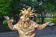 Louisiana, New Orleans, Mime, Street Performer, Sun