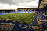 Stadium during the Sky Bet Championship match between Birmingham City and Middlesbrough at St Andrews, Birmingham, England on 29 April 2016. Photo by Alan Franklin.