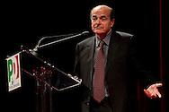 Potenza (PZ), 21-10-2010 ITALY - Il segretario nazionale del Pd Pier Luigi Bersani in visita in Basilicata. Photo by Giovanni Marino