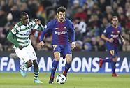 Barcelona vs Sporting CP - 05 Dec 2017