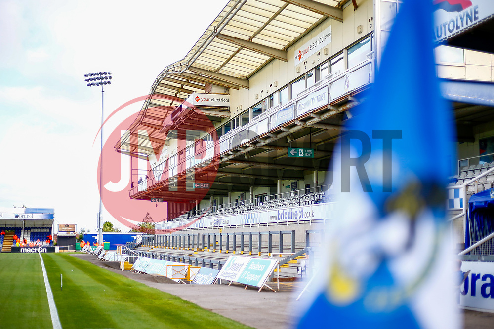 A general view of the Memorial Stadium  - Mandatory by-line: Ryan Hiscott/JMP - 14/08/2018 - FOOTBALL - Memorial Stadium - Bristol, England - Bristol Rovers v Crawley Town - Carabao Cup