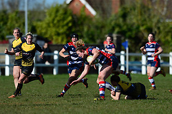 Amelia Buckland Hurry (c) of Bristol Ladies - Mandatory by-line: Dougie Allward/JMP - 26/03/2017 - RUGBY - Cleve RFC - Bristol, England - Bristol Ladies v Wasps Ladies - RFU Women's Premiership