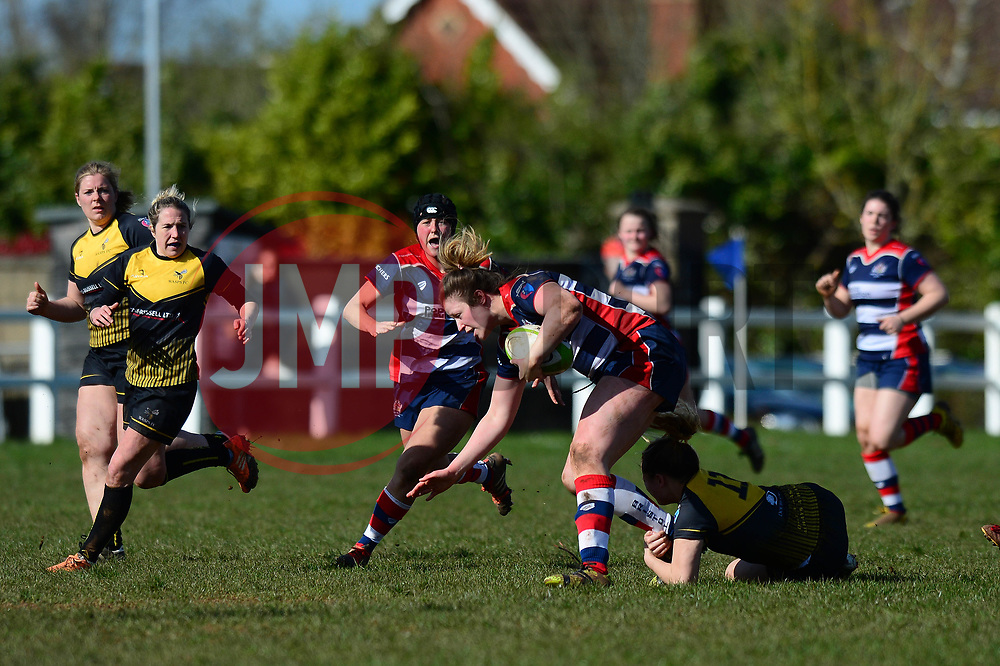 Amelia Buckland Hurry (c) of Bristol Ladies - Mandatory by-line: Dougie Allward/JMP - 26/03/2017 - RUGBY - Cleve RFC - Bristol, England - Bristol Ladies v Wasps Ladies - RFU Women's Premiership