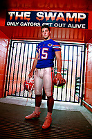 &copy;Tom DiPace Photography<br /> All Rights Reserved<br /> 561.968.0600<br /> Subject<br /> Tim  Tebow Florida Gators <br /> Shot in Ben Hill Griffen Stadium<br /> By Tom DiPace&copy;