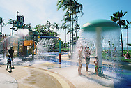 The Strand water park, Townsville, Queensland, Australia.