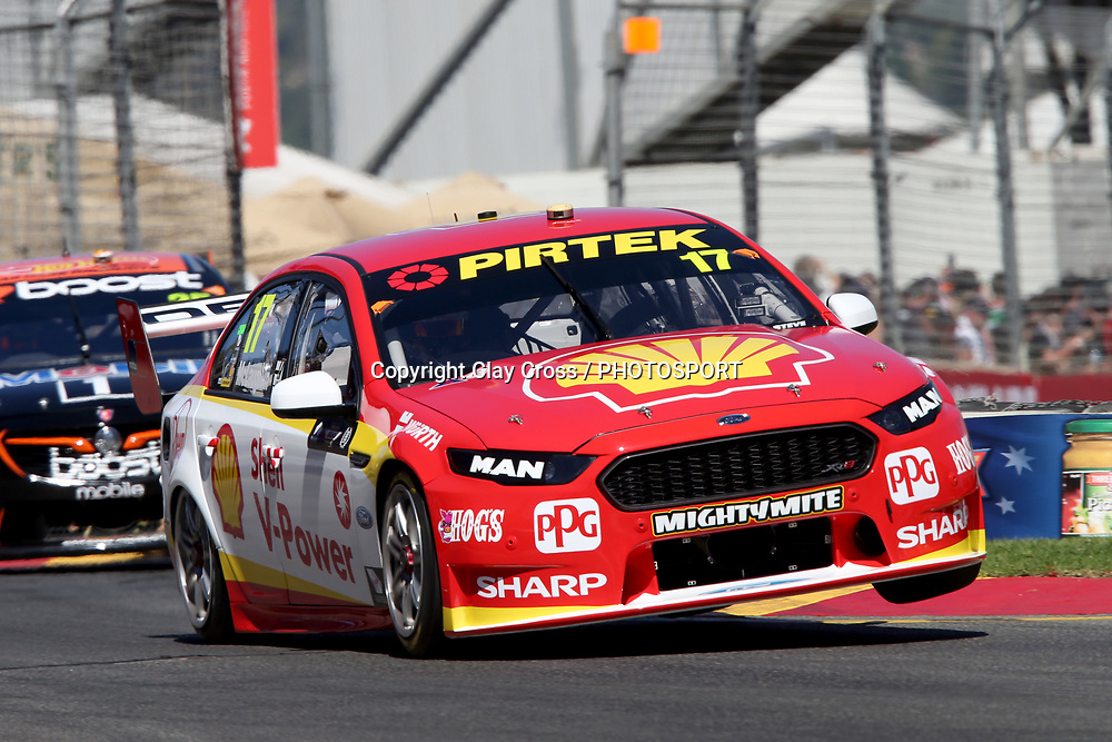 SCOTT MCLAUGHLIN (Shell DJR Penske Ford). Adelaide 500 -Virgin Australia Supercars Championship Round 1. Adelaide Street Circuit, South Australia. Saturday 3 March 2018. Photo Clay Cross / photosport.nz