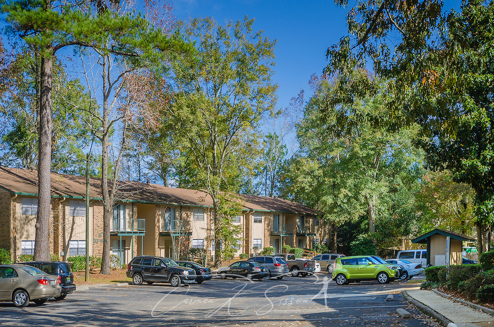 Residential buildings at Autumn Woods apartments in Mobile Alabama ...