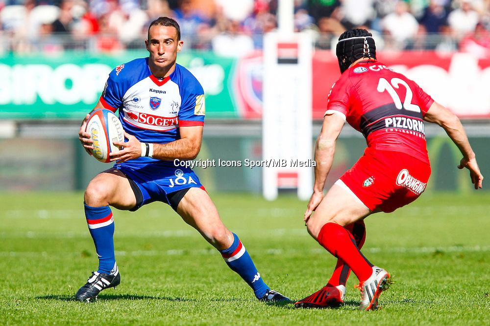 Fabien GENGENBACHER  - 11.04.2015 - Grenoble / Toulon  - 22eme journee de Top 14 <br />Photo :  Jacques Robert / Icon Sport
