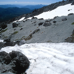 Ptarmigan Trail on Monitor Ridge on Way to Summit of Mt. St. Helens, Mt. St. Helens National Volcanic Monument, Washington, US