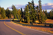 The Rim Road, Crater Lake National Park, Oregon