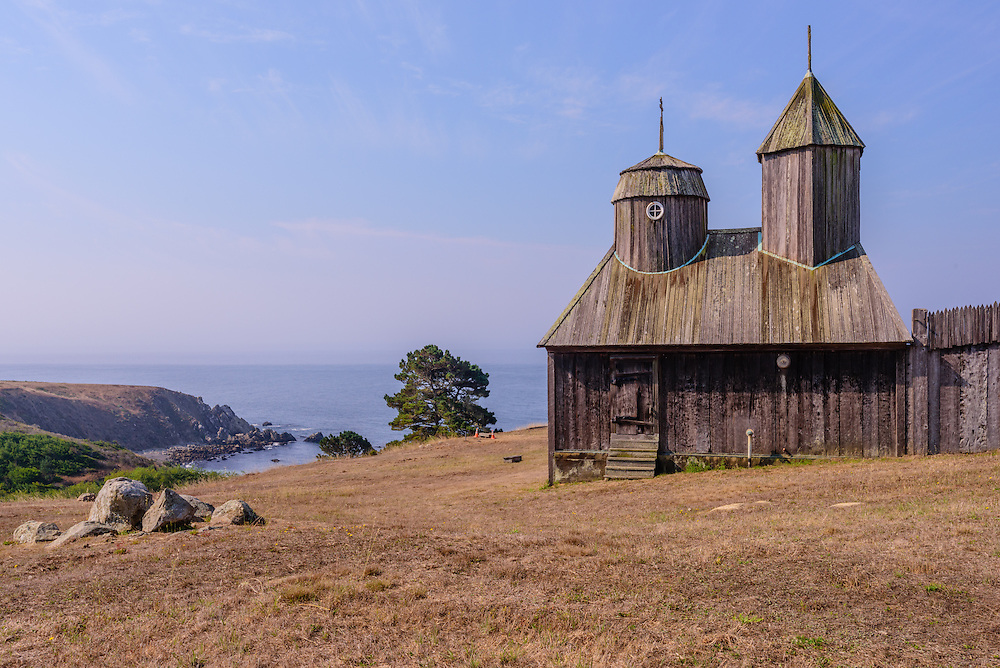 Fort Ross State Historic Park is a historical state park, Jenner, California