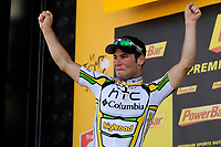 CYCLING - TOUR DE FRANCE 2010 - MONTARGIS (FRA) - 08/07/2010 - PHOTO : VINCENT CURUTCHET / DPPI - <br /> STAGE 5 - EPERNAY > MONTARGIS - MARK CAVENDISH (GBR) / TEAM HTC-COLUMBIA / WINNER