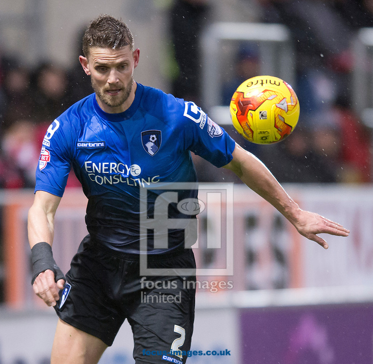 Simon Francis of Bournemouth during the Sky Bet Championship match at the New York Stadium, Rotherham<br /> Picture by Russell Hart/Focus Images Ltd 07791 688 420<br /> 17/01/2015