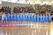 ROMA 11 APRILE 2007<br /> BASKET FEMMINILE<br /> ITALIA - USA<br /> NELLA FOTO LA NAZIONALE ITALIANA<br /> FOTO CIAMILLO-CASTORIA