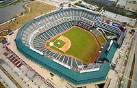 Aerial  view of the  Texas Rangers Ballpark in Arlington, Texas,  2010 American league champions,   as seen in May 2000. (AP Photo/Julia Robertson)