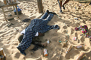 'One child said a Muslim prayer and was spared, the other was killed': How five-year-old boy pleaded for his life before being shot dead by al Qaeda terrorists as they singled out victims in Ivory Coast beach attack 'targeting US diplomats'<br /> <br /> Suspected al Qaeda terrorists shot dead a five-year-old boy who fell to his knees and prayed for his life during a terror attack on a tourist resort in Ivory Coast, eyewitnesses have said.<br /> At least four men armed with AK47s and hand grenades killed 16 people, including four Europeans, in the historic town of Grand Bassam before they were gunned down in a shootout with government troops.<br /> One survivor who saw the attack unfold said: 'They killed a child despite him kneeling down and begging. They shot a woman in the chest. They've killed innocent people.'<br /> Another witness, Marcel Guy, said a man with a long beard spoke to two children in Arabic and spared the life of the one who was able to recite an Islamic prayer.<br /> 'The Christian boy was shot and killed right in front of my eyes,' Guy said. <br /> ©Exclusivepix Media
