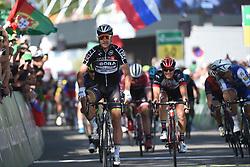 June 17, 2017 - Schaffhausen, Suisse - SCHAFFHAUSSEN, SWISS - JUNE 17 : SAGAN Peter (SVK) Rider of Team Bora - Hansgrohe during stage 8 of the Tour de Suisse cycling race, a stage of 100 kms between Schaffhaussen and Schaffhaussen on June 17, 2017 in Schaffhaussen, Swiss, 17/06/2017 (Credit Image: © Panoramic via ZUMA Press)