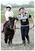 Daisy on Pony Day. 15-4-2009