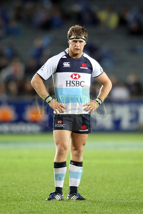 Pat McCutcheon. Investec Super Rugby - Blues v Waratahs, Eden Park, Auckland, New Zealand. Saturday 16 April 2011. Photo: Clay Cross / photosport.co.nz