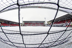 Snow at East End Park | Dunfermline | 16 January 2018