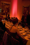 Dinner, Millais exhibition opening and Dinner. Tate Gallery. 24 September 2007. -DO NOT ARCHIVE-© Copyright Photograph by Dafydd Jones. 248 Clapham Rd. London SW9 0PZ. Tel 0207 820 0771. www.dafjones.com.