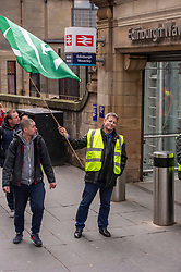 Pictured: Glenn Broddle from Milton Keynes flies the flag of support<br />