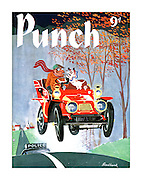 Punch (Front cover, 17 October 1956)