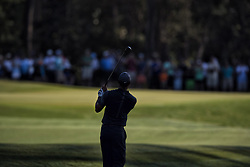 May 11, 2018 - Ponte Vedra Beach, FL, USA - The Players Championship 2018 at TPC Sawgrass..Tiger Woods hitting from 12th fairway to green. (Credit Image: © Bill Frakes via ZUMA Wire)