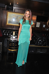 LAVINIA BRENNAN at the launch of Beulah's collaboration with Hennessy Gold Cup and a preview of the SS13 Collection held at The Brompton Club, 92b Old Brompton Road, London SW7 on 18th October 2012.