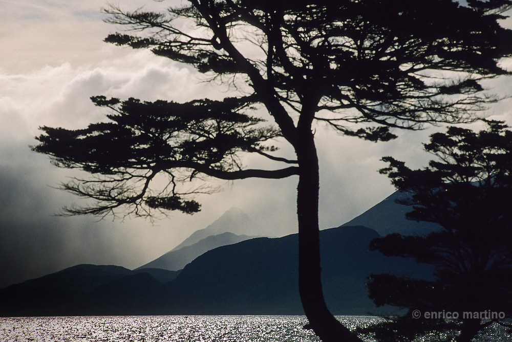 Tierra del Fuego, Isla Navarino. After the Beagle channel, the mountains of Tierra del Fuego.