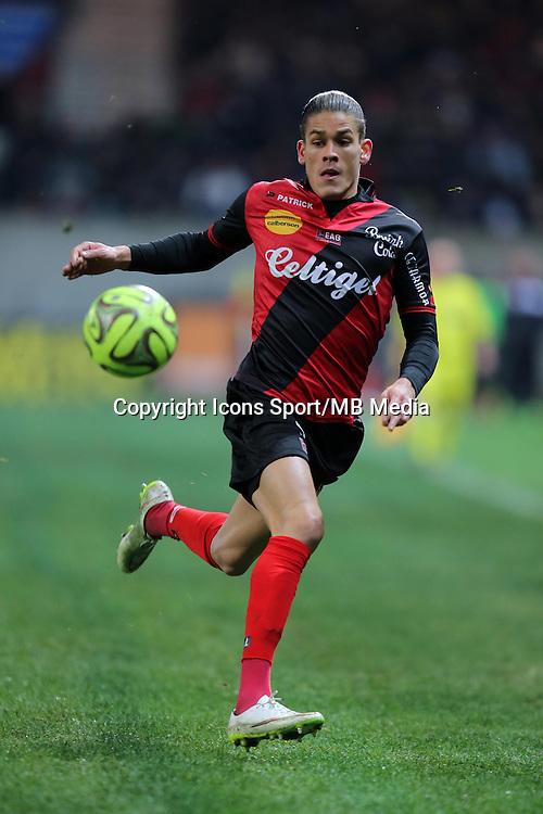 Dorian LEVEQUE  - 24.01.2015 - Guingamp / Lorient - 22eme journee de Ligue1<br />Photo : Vincent Michel / Icon Sport *** Local Caption ***
