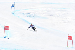 FRANCOIS Frederic LW11 FRA competing in ParaSkiAlpin, Para Alpine Skiing, Super G at PyeongChang2018 Winter Paralympic Games, South Korea.