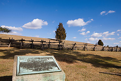 Manassas National Battlefield Park, located north of Manassas, Virginia on February 28, 2008.