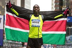 NYRR New York City Half Marathon road race: Leonard Korir