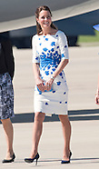 KATE & Ptince William Visit RAAF Amberley 2